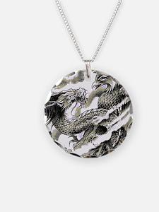 Dragon  Phoenix Tattoo Flip  Necklace