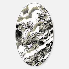 Dragon  Phoenix Tattoo Flip Flops Decal