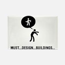 Architect-A Rectangle Magnet