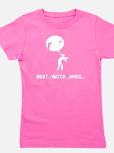 Bird-Watching-D Girl's Tee