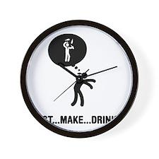 Bartender-C Wall Clock