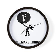 Bartender-A Wall Clock