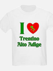 I Love Trentino Alto Adige It T-Shirt