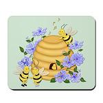 Honey Bee Dance Mousepad
