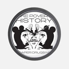 Make Poverty History Wall Clock