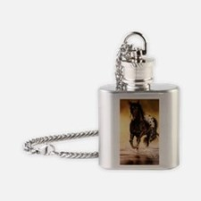 Running free Flask Necklace