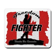 Freedom Fighter Canada Mousepad