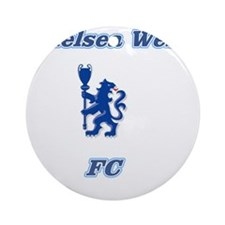 Chelsea West Main Logo Round Ornament