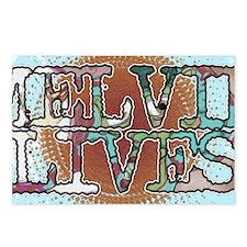 Melvin Lives Postcards (Package of 8)