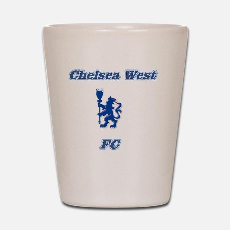 Chelsea West Main Logo Shot Glass