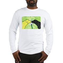 Labs Like to Share Long Sleeve T-Shirt