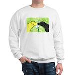 Labs Like to Share Sweatshirt