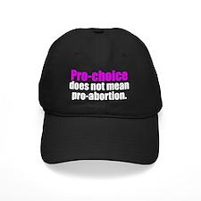 prochoicedoesntwhpink Baseball Hat