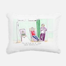 Surgery Greeting Card Rectangular Canvas Pillow