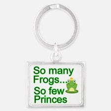 So many Frogs Landscape Keychain