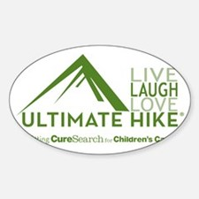 Live. Laugh. Love. HIKE Decal