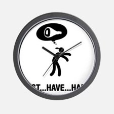 Ham-C Wall Clock