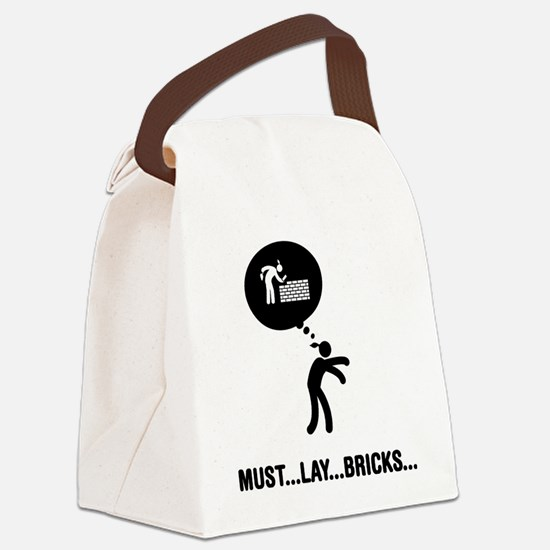 Bricklayer-C Canvas Lunch Bag