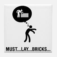 Bricklayer-C Tile Coaster