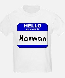 hello my name is norman T-Shirt