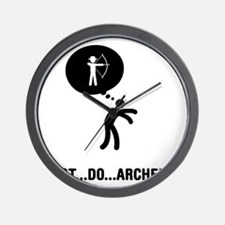Archery-C Wall Clock