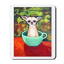 Fireking Teacup Chihuahua Mousepad