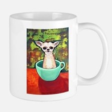 Fireking Teacup Chihuahua Mug