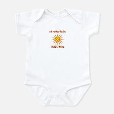 I'd Rather Be In Exuma, Baham Infant Bodysuit