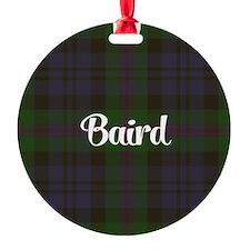Baird Tartan Ornament