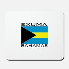 Exuma, Bahamas Mousepad