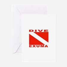 Dive Exuma, Bahamas Greeting Cards (Pk of 10)
