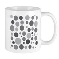 50 Shades of Grey Dots Mug