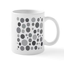 50 Shades of Grey Dots Mug