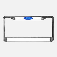 Unique River License Plate Frame