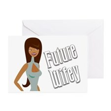 Raven Font Future Wifey Greeting Cards (Package of