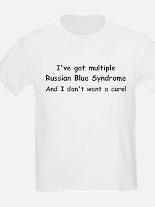 Multiple Russian Blues Kids T-Shirt