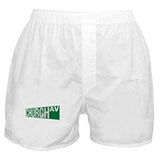 Church Av  Boxer Shorts