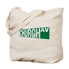 Church Av  Tote Bag