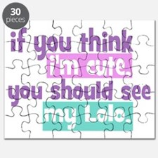 If you think im cute - Lolo Puzzle