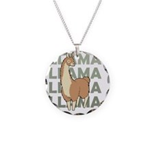 Llama, Llama, Llama! Necklace