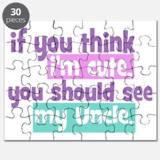 If you think Im Cute - Uncle Puzzle