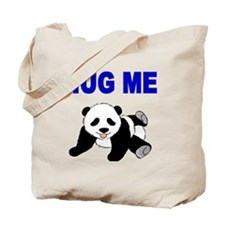 HUG ME WITH PANDA BEAR Tote Bag