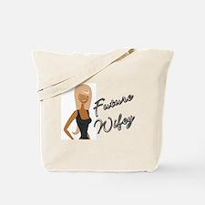 Curvy Font Future Wifey Tote Bag