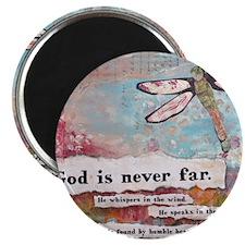 God is Never Far Magnet