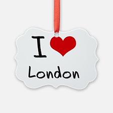 I Heart LONDON Ornament
