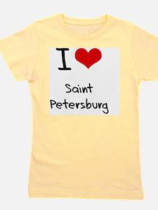 I Heart SAINT PETERSBURG Girl's Tee