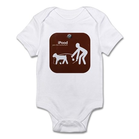 College Humor tees iPood Dog Infant Bodysuit