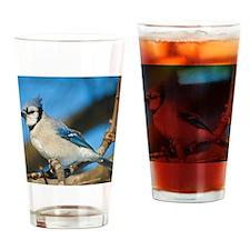 Bluejay 2 Drinking Glass