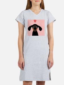doxiecoasterheart Women's Nightshirt