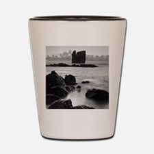Seascape with islets Shot Glass